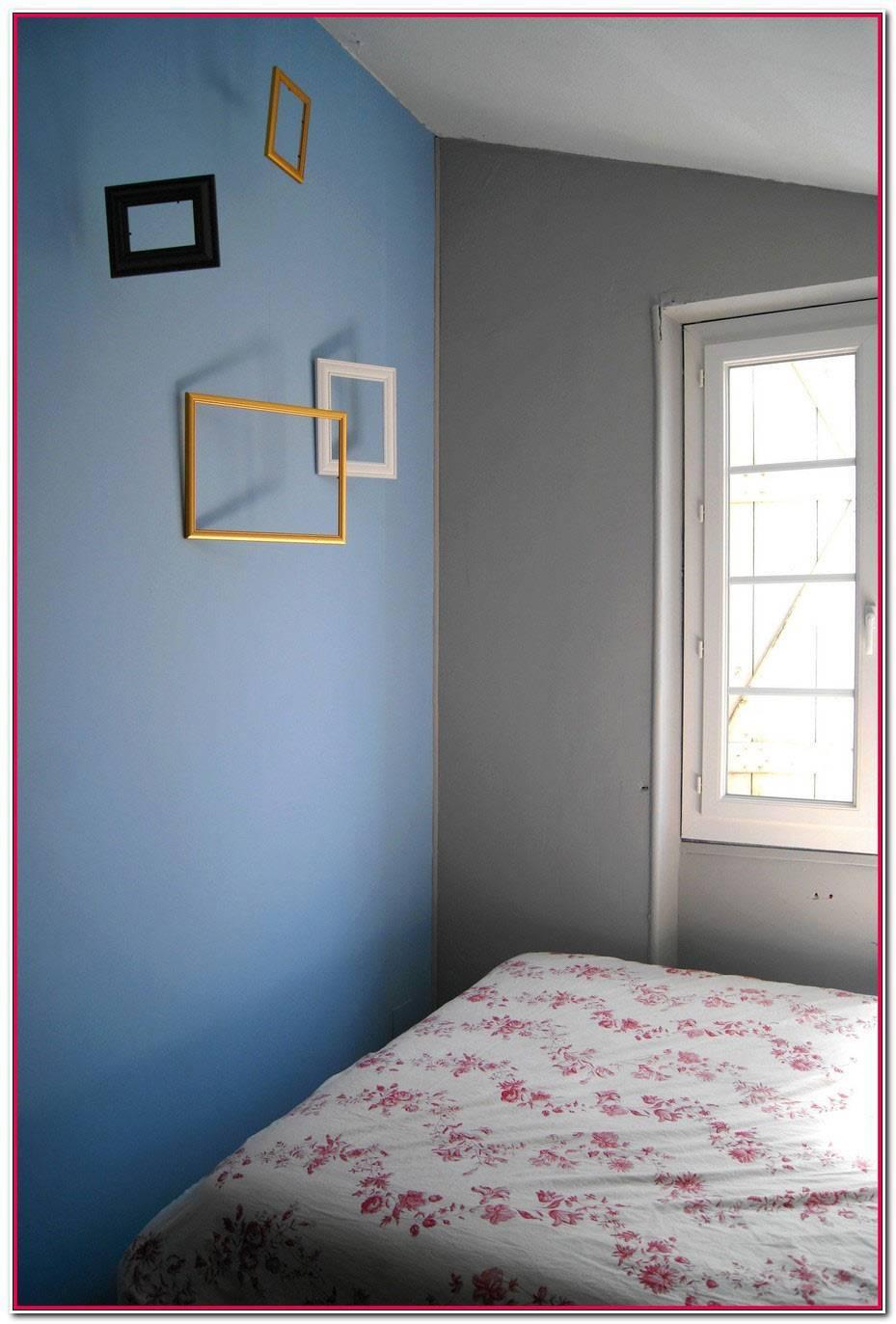 Chambre Adolescent Bleu Gris