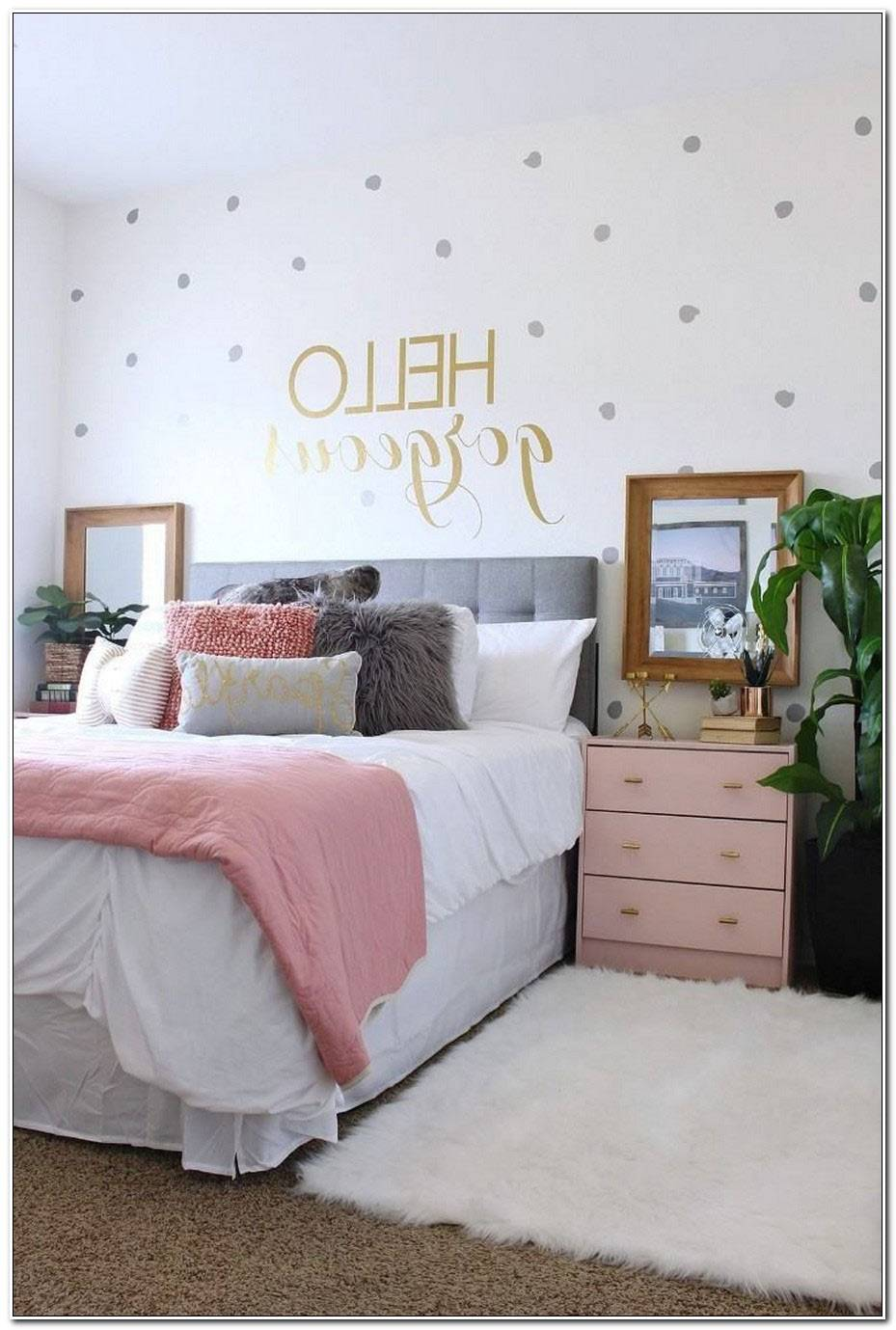 Chambre Adolescent Fille Moderne
