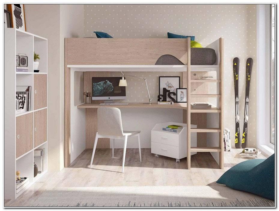 Chambre Adolescent Lit Mezzanine