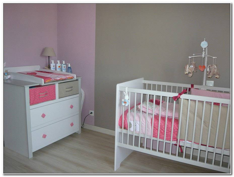 Chambre Bb Fille Rose Et Taupe