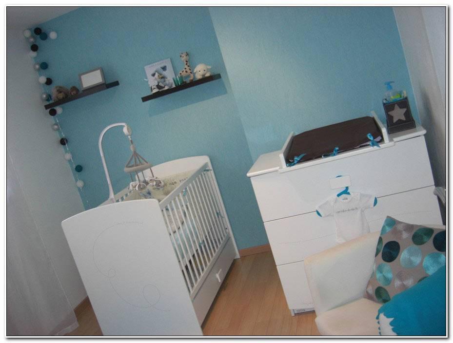 Chambre Bebe Bleu Gris