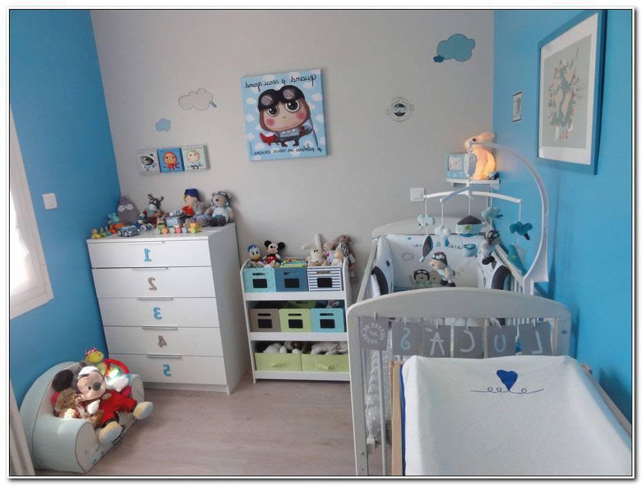Chambre Bebe Bleu