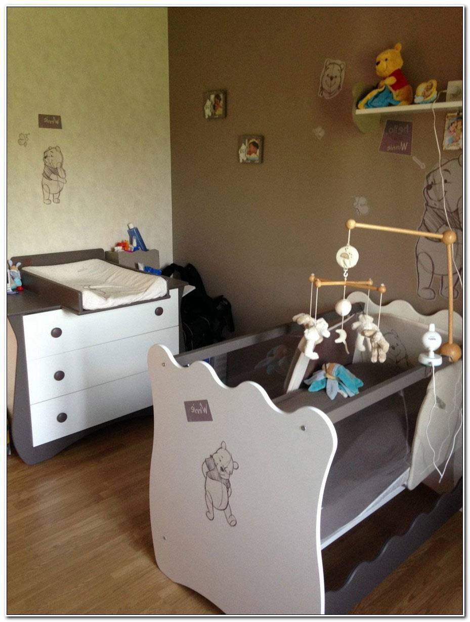 Chambre Bebe Taupe Et Vert Anis