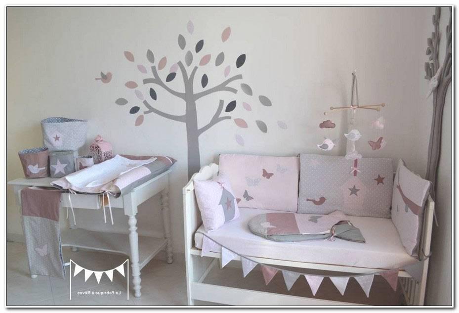 Chambre Bebe Vieux Rose Gris