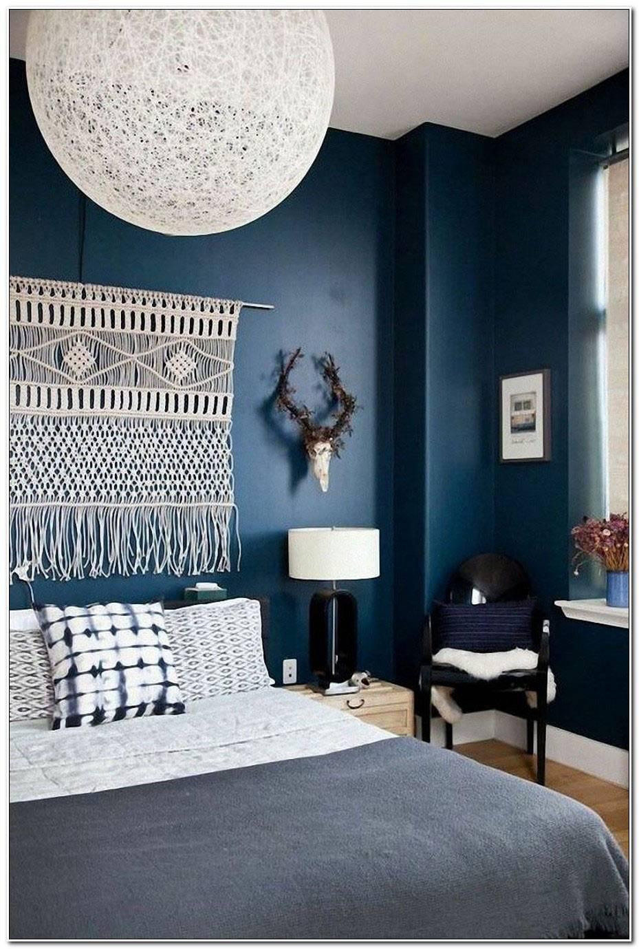 Chambre Bleu Marine