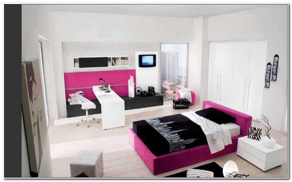 Chambre D'Adolescent Moderne Fille