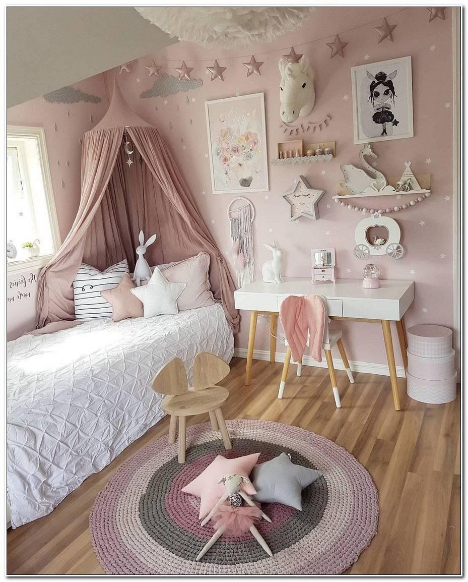 Chambre Fille Blanche Et Rose