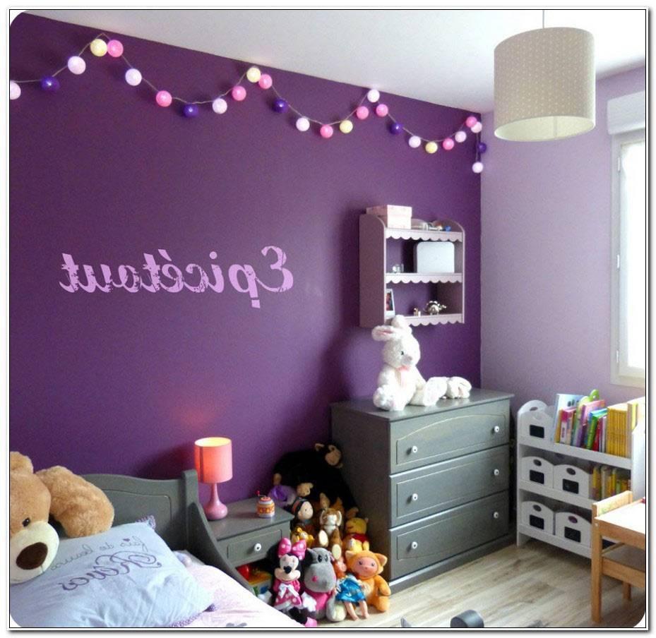 Chambre Fille Violet
