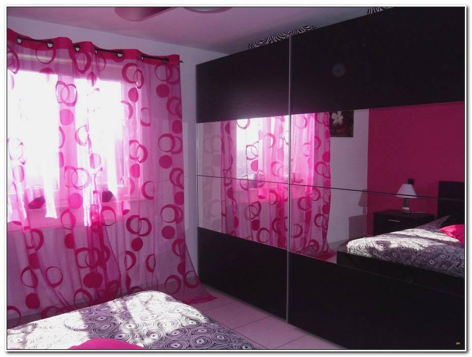 Chambre Fushia Et Gris