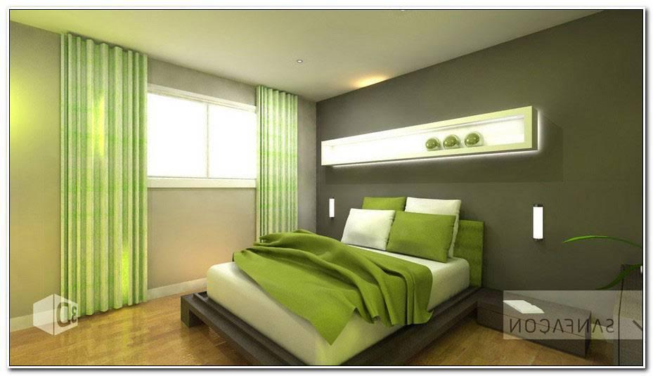 Chambre Grise Et Verte