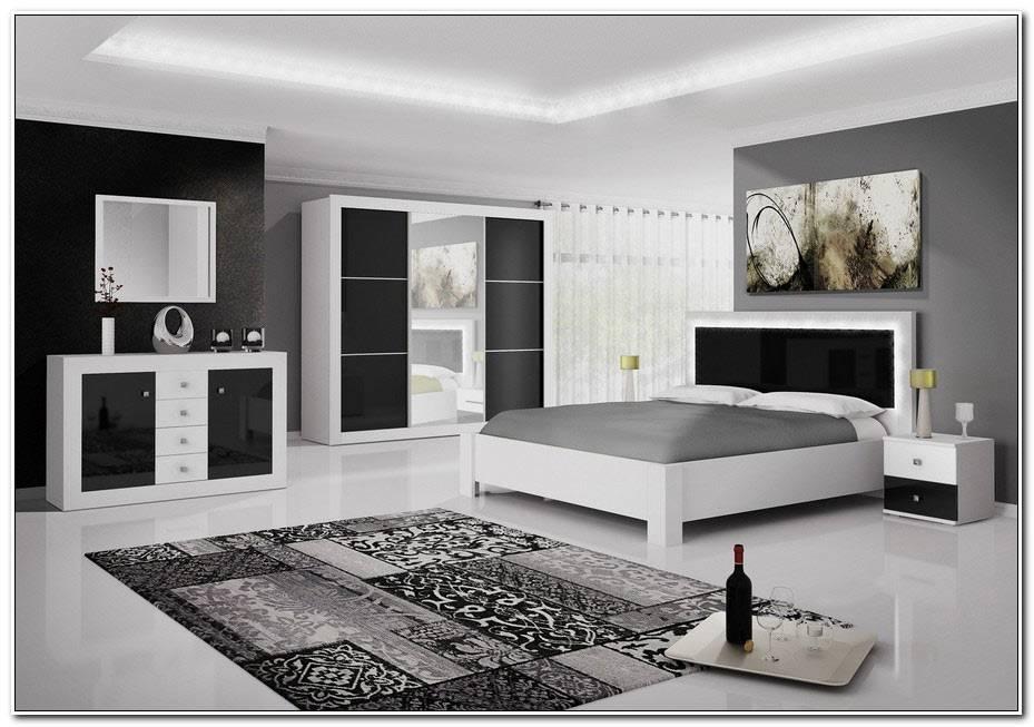 Chambre Noir Et Blanche