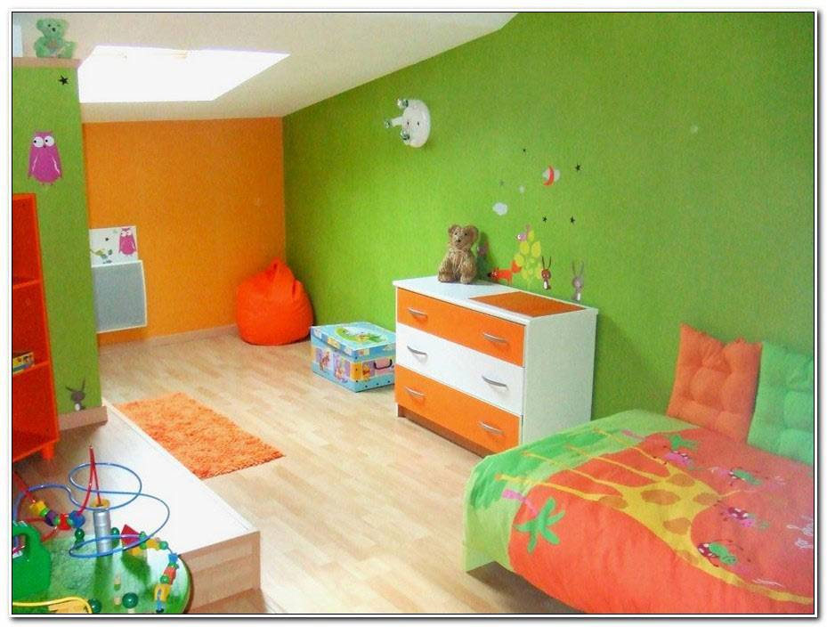 Chambre Orange Et Vert Bebe