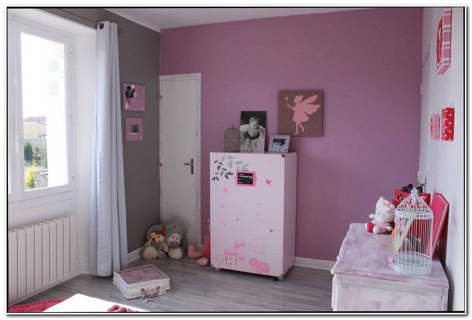 Chambre Rose Moderne
