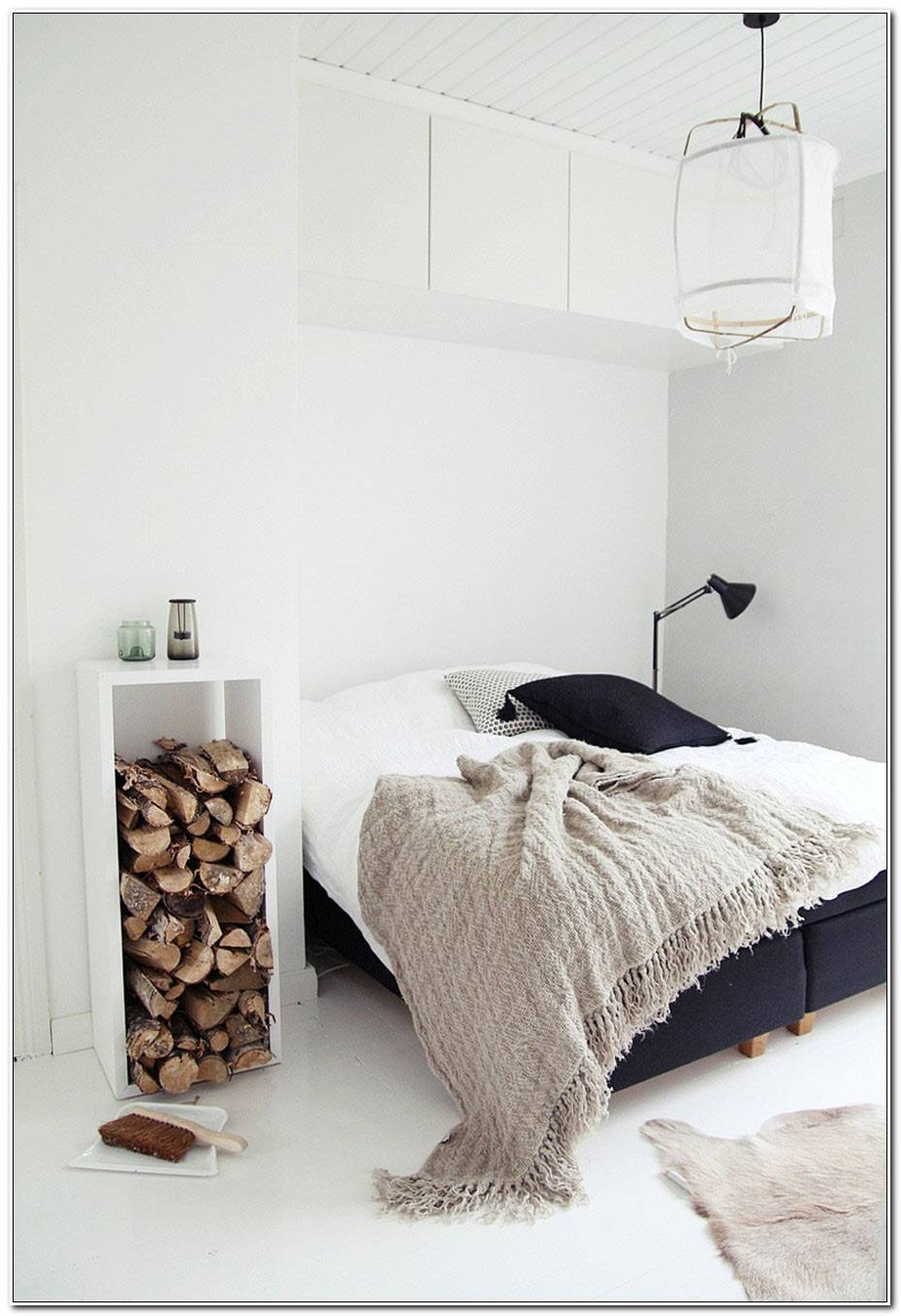 Chambre Scandinave Blanche
