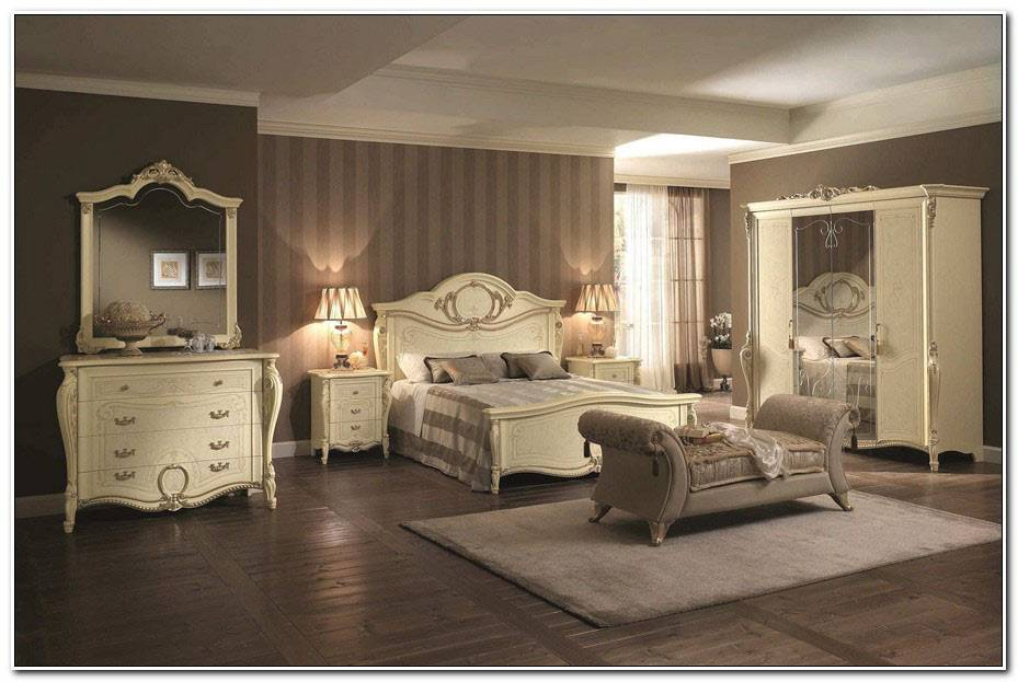 Chambre Style Baroque Moderne