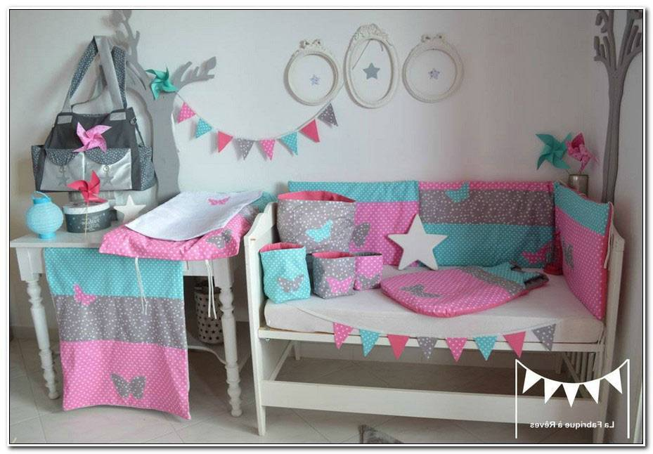 Chambre Turquoise Et Rose