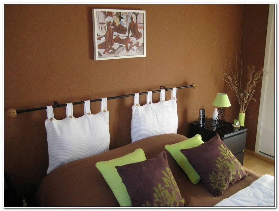 Chambre Vert Pomme Et Marron