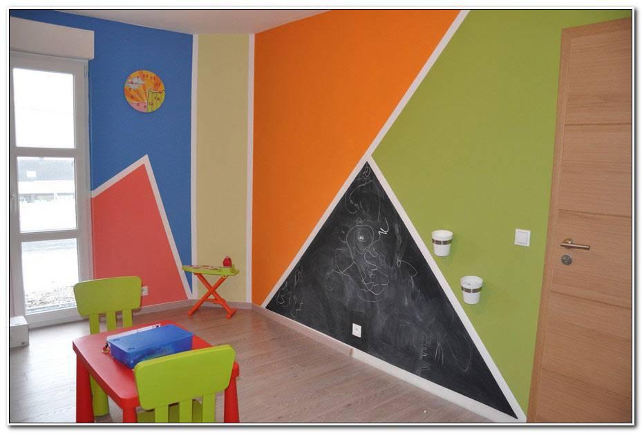 Chambre Vert Pomme Et Orange