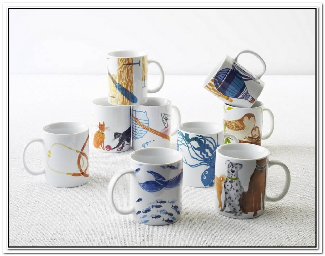 Charity Mugs From West Elm