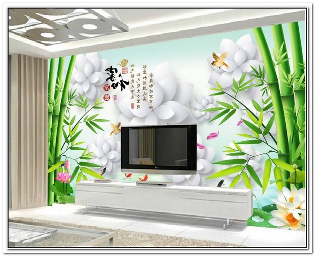 Charming 37 Square Meter Flat With Floral Wallpaper