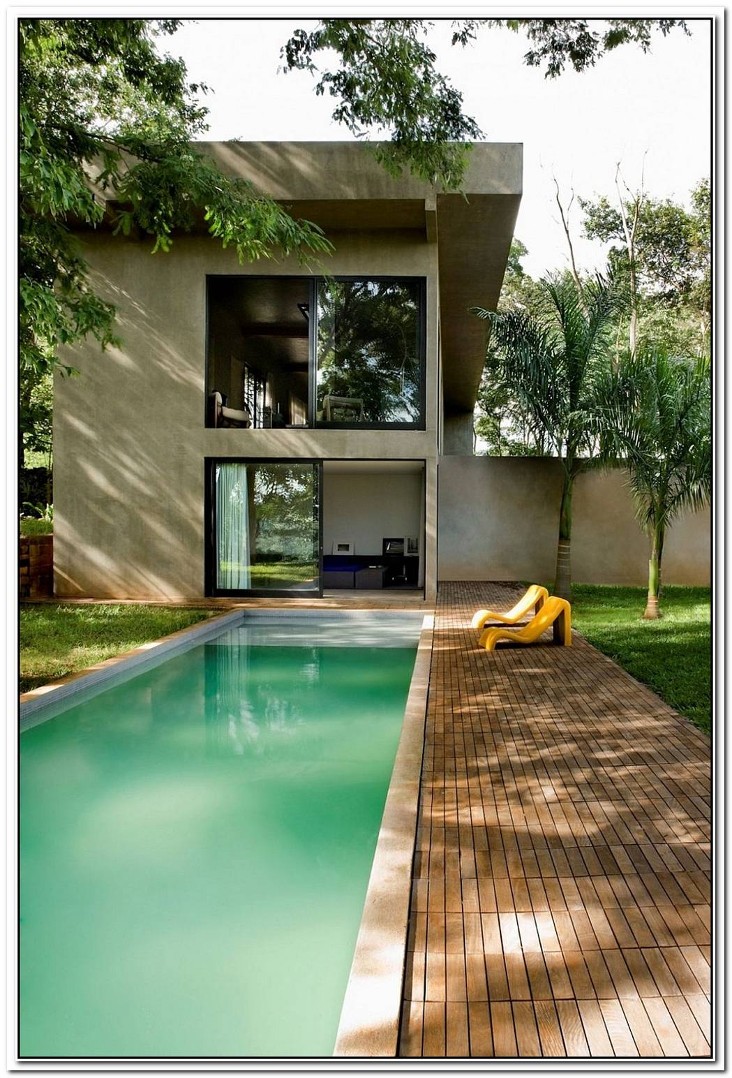Charming Industrial House In Brazil With A Daring Splash Of Red