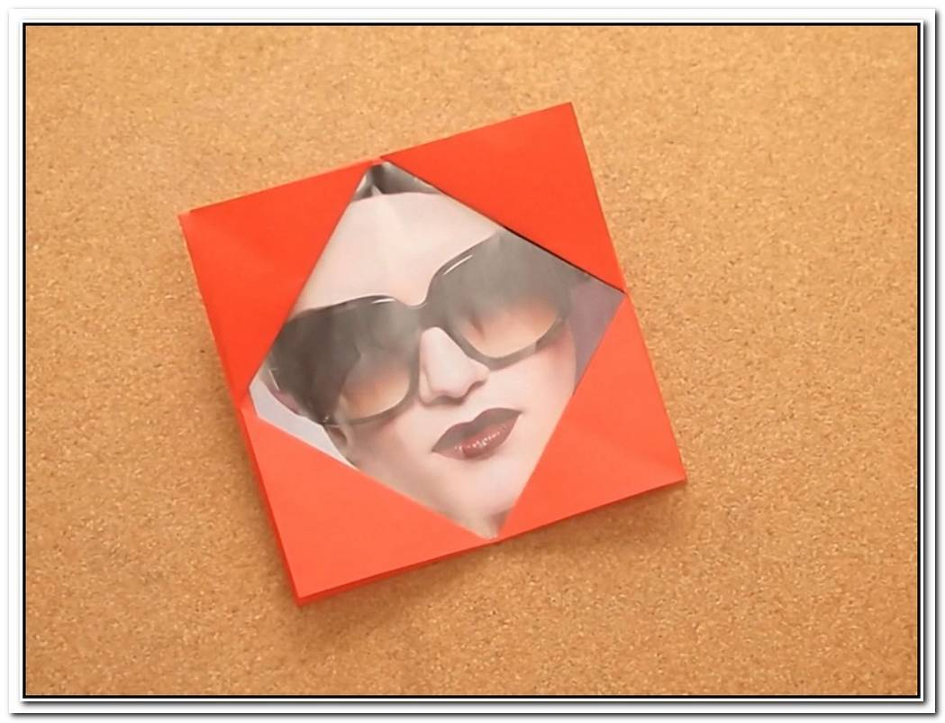 Charming Origami Photo Frames