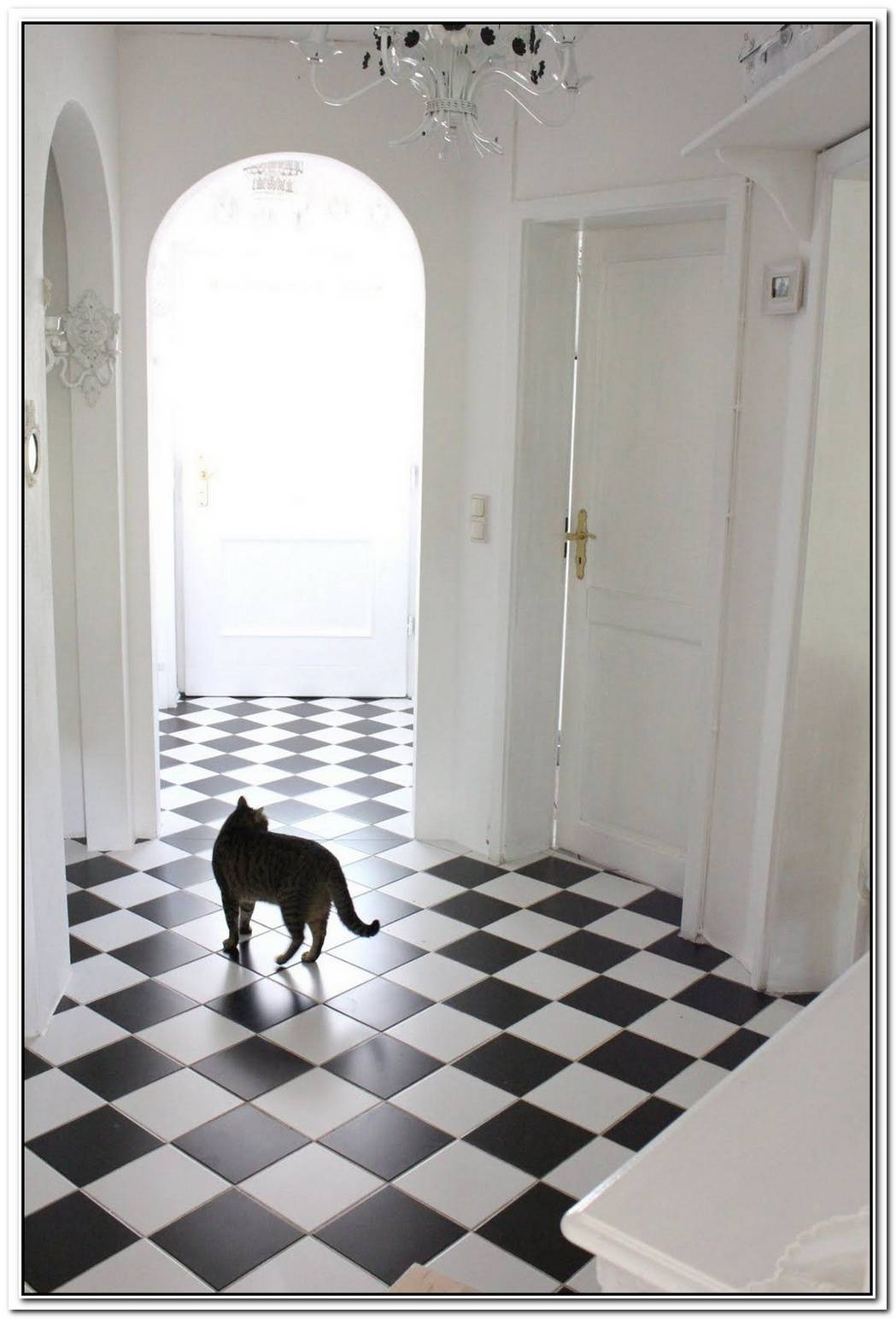 Checkerboard Flooring Timeless Beauty For Any Room Of The House