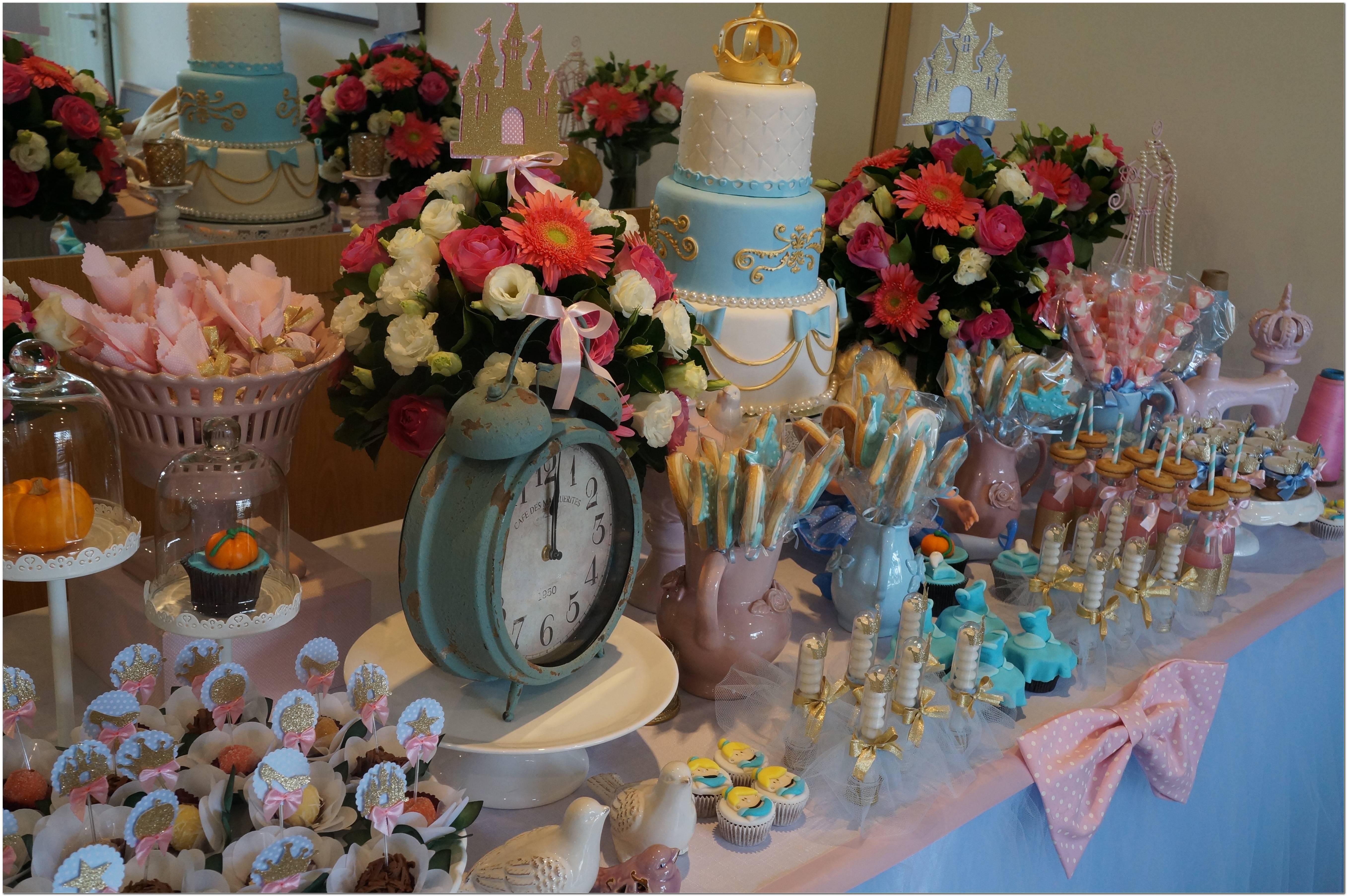 Cinderela Decoração Festa Infantil