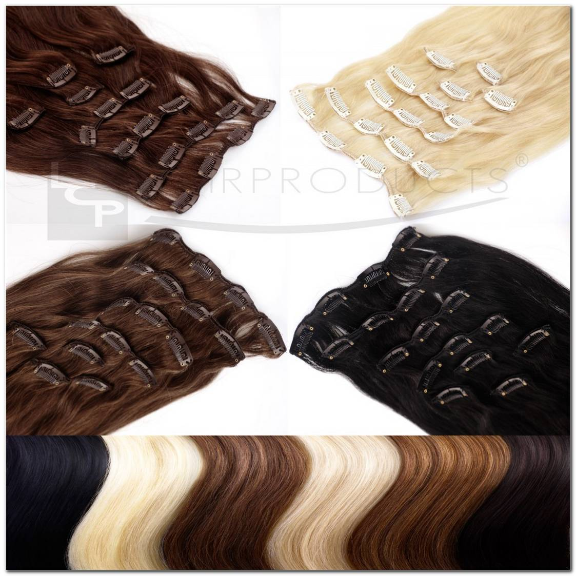 Clip In Extensions Echthaar Frisuren