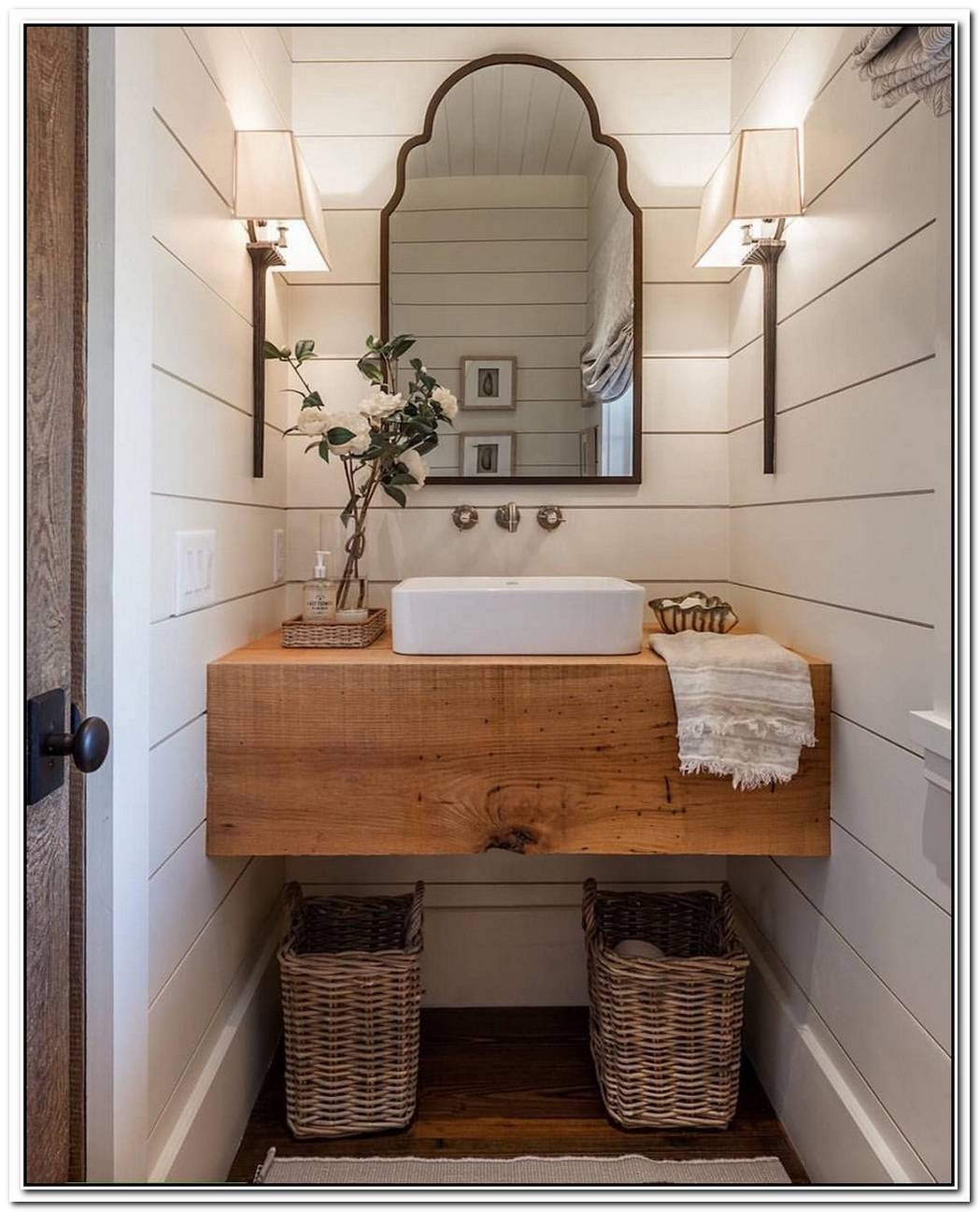 Coastal Rustic Bathroom