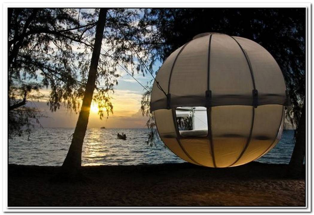Cocoon Tree TentGorgeous Hammock Tent Encased In Cozy Luxury