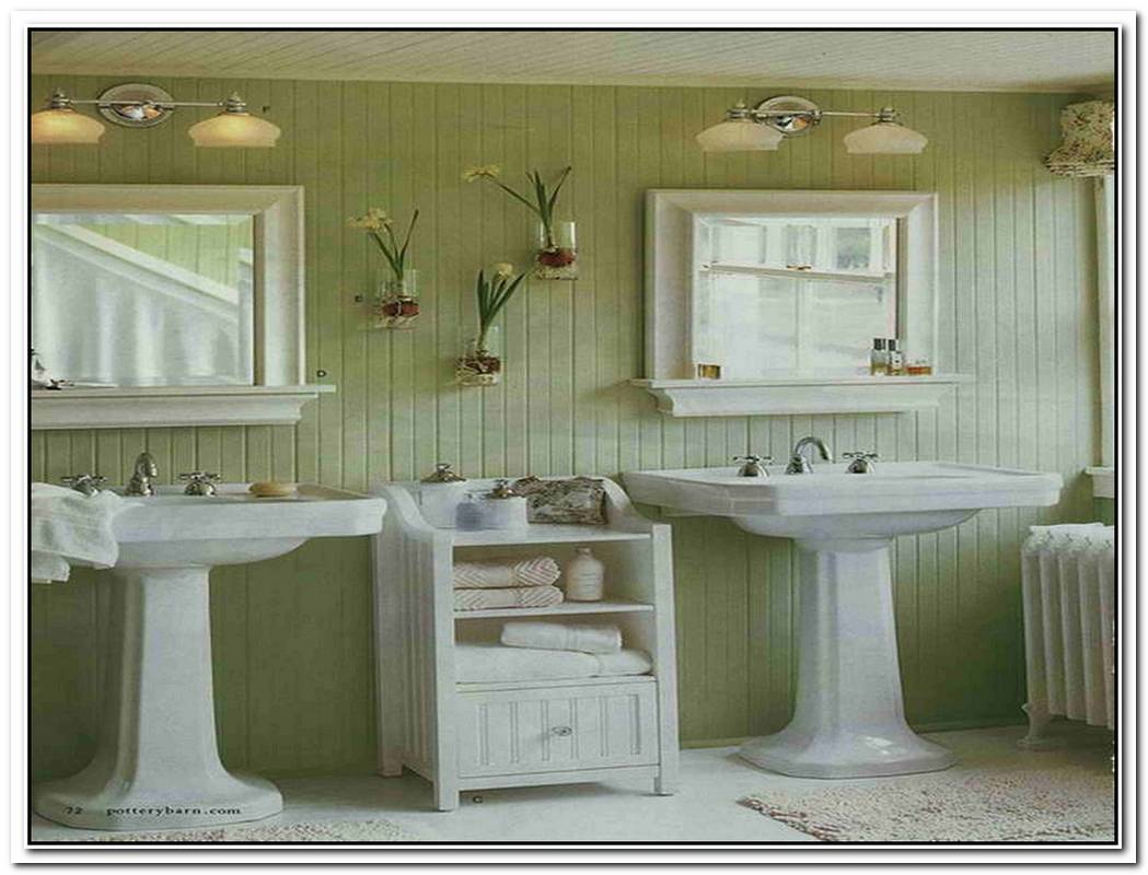 Colorful Vintage Small Vintage Bathroom