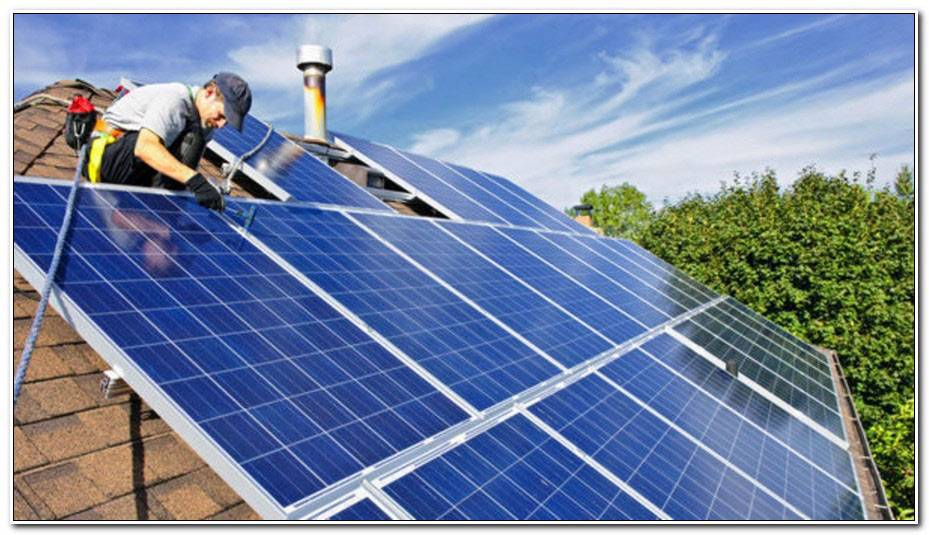 Combien De Panneau Photovoltaique Pour Une Maison