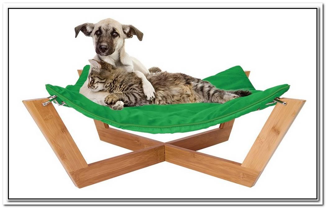 Comfortable Bamboo Hammock Dog Bed