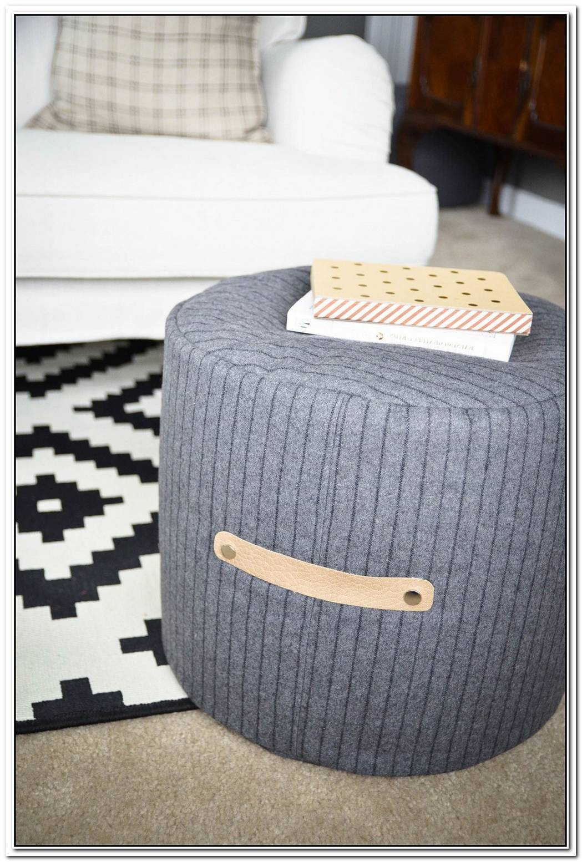 Comfy Diy Floor Poufs