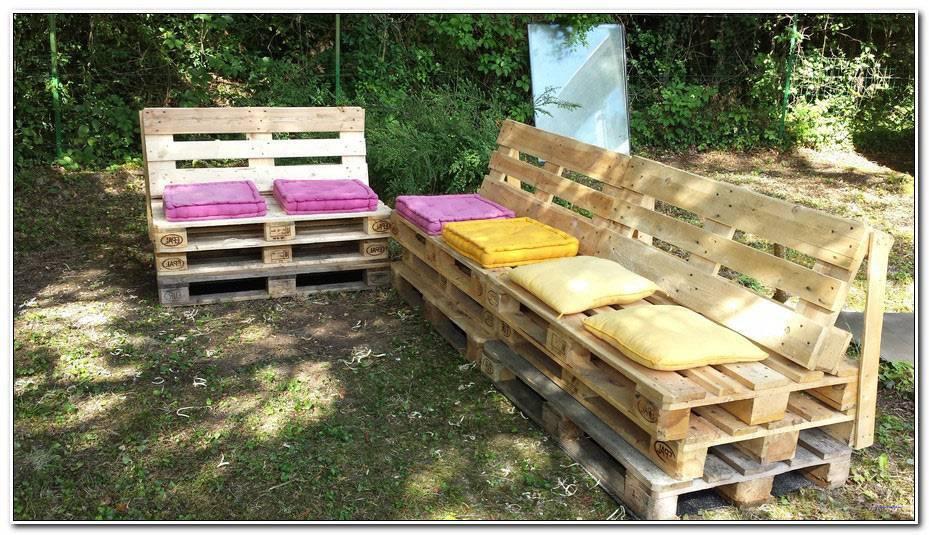 Comment Fabriquer Son Salon De Jardin Avec Des Palettes