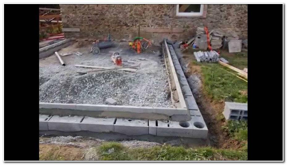 Comment Faire Une Dalle Beton Pour Terrasse