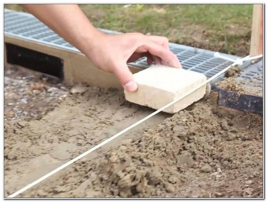 Comment Faire Une Terrasse En Pave Autobloquant