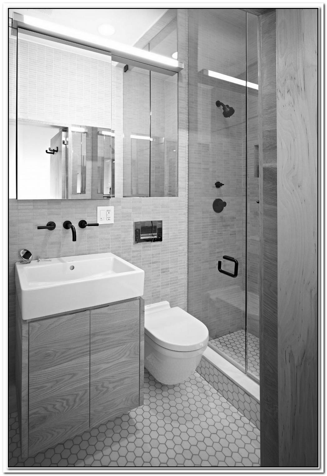 Common Small Space Bathroom Modern