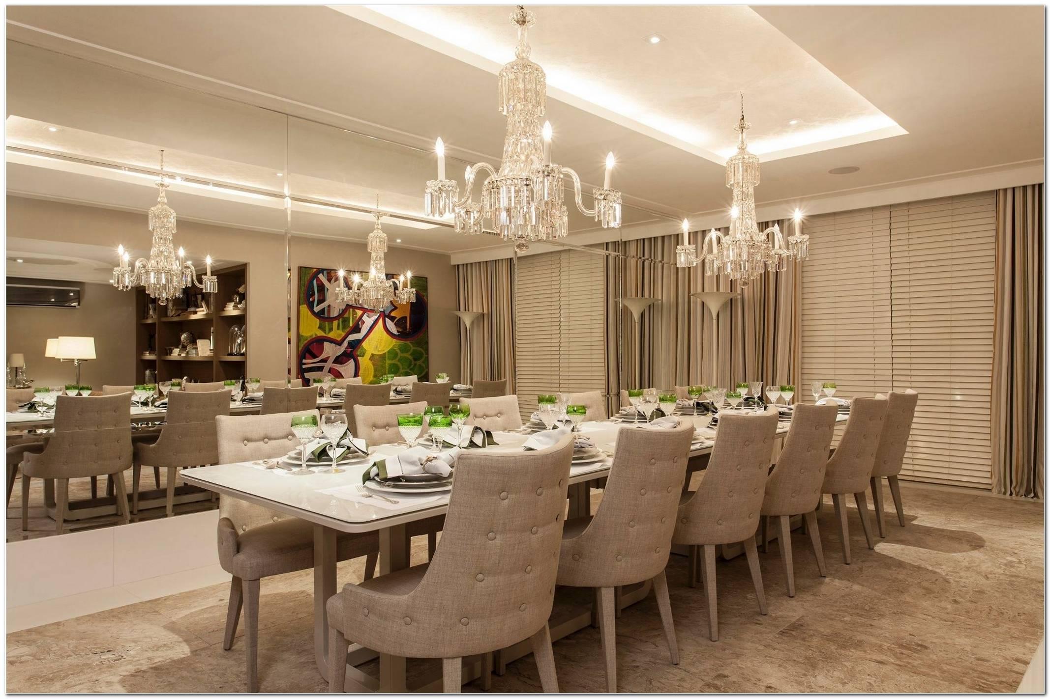 Como Decorar Uma Sala De Jantar Grande