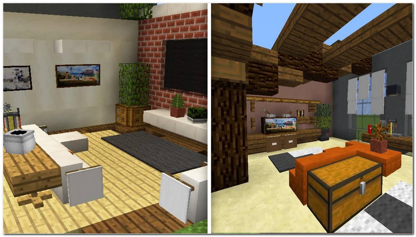 Como Decorar Uma Sala Pequena No Minecraft