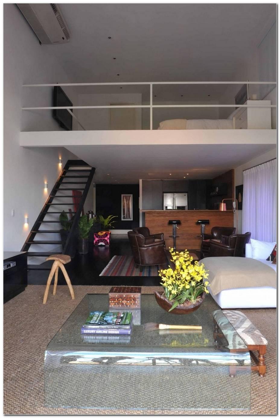 Como Decorar Uma Sala Pequena Que Tem Escada