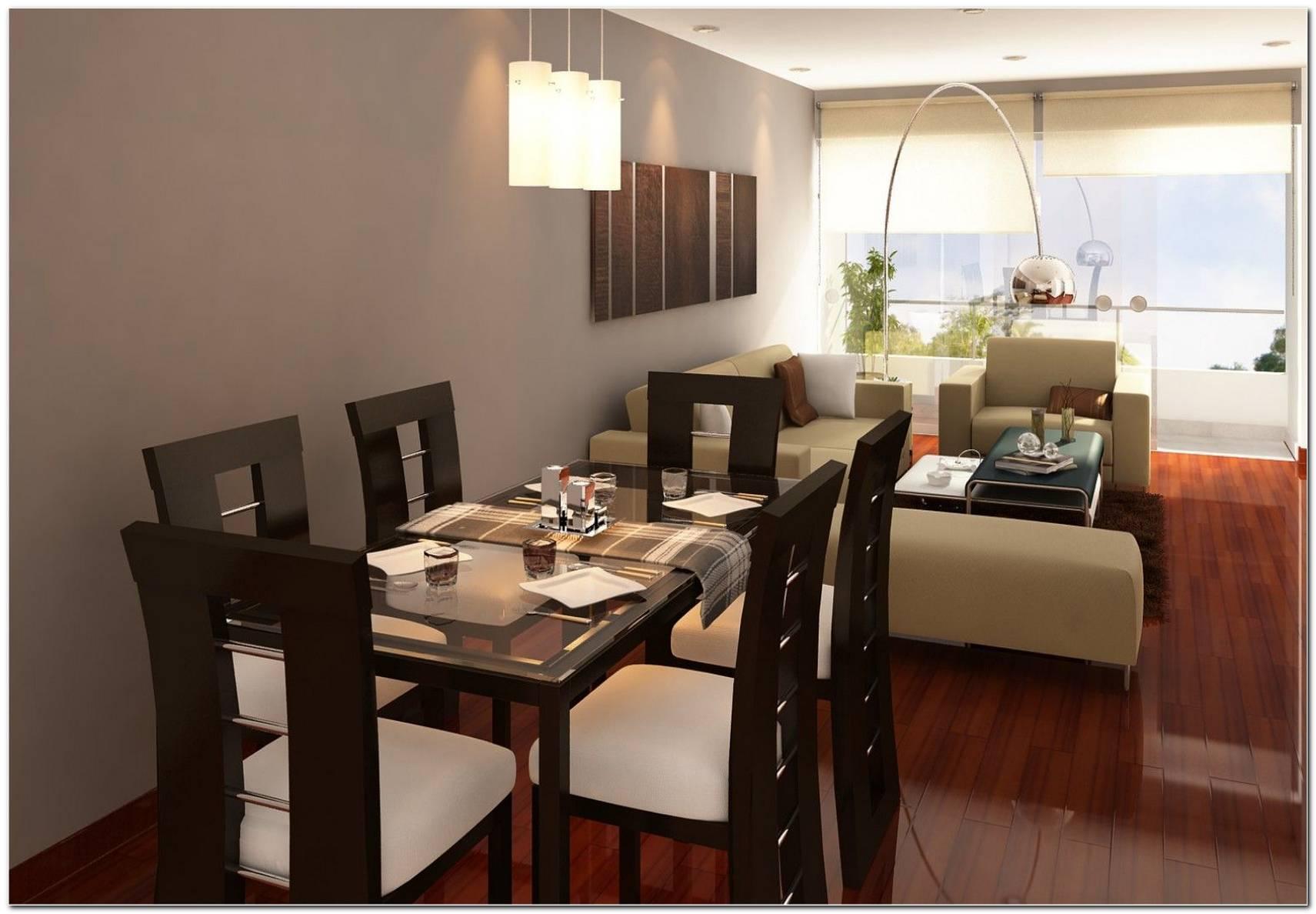 Como Decorar Una Sala Y Comedor En Un Ambiente Pequeno