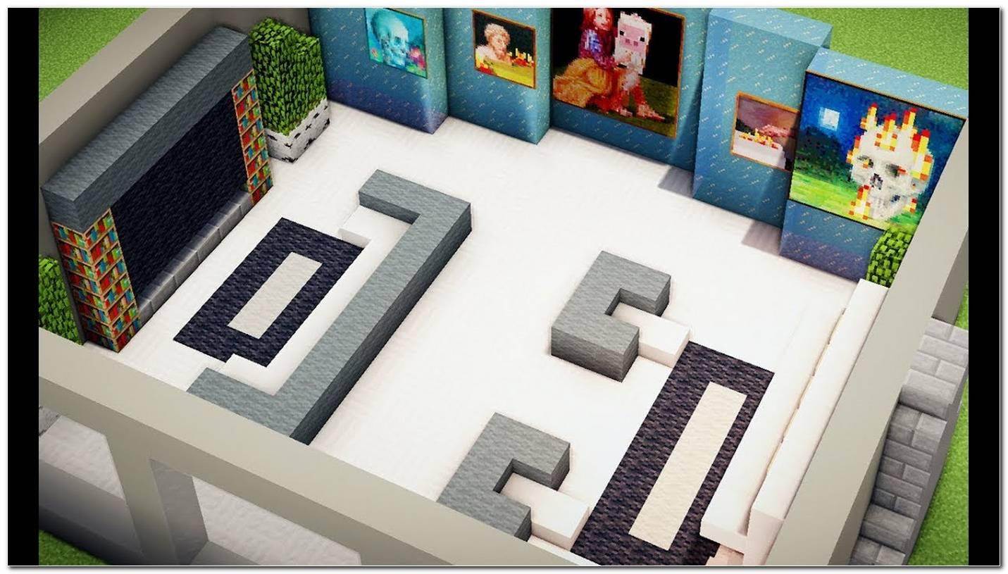 Como Fazer Uma Sala De Estar Moderna No Minecraft