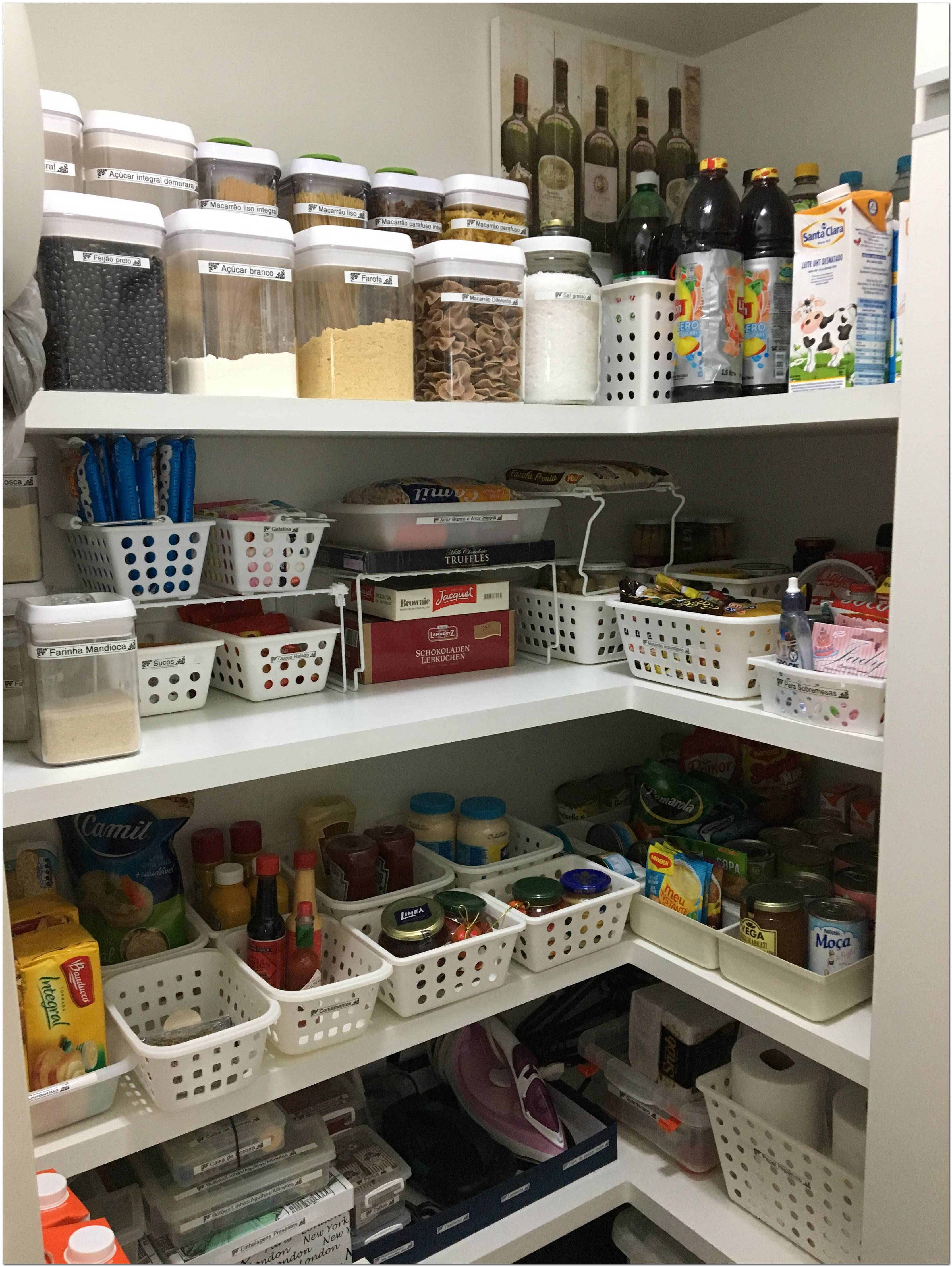 Como Organizar Armário De Cozinha As 60 Melhores Dicas De Todas