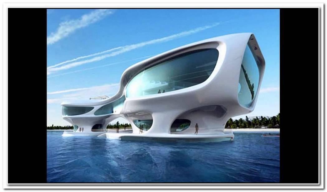 Concept Architecture Marine Research Center In Bali