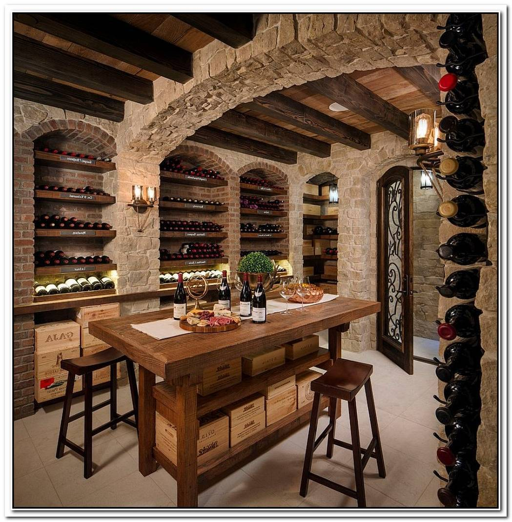 Connoisseur'S Delight20 Tasting Room Ideas To Complete The Dream Wine Cellar