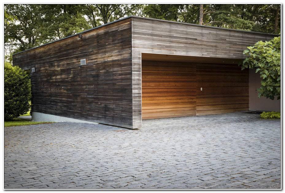 Construire Garage Bois Toit Plat