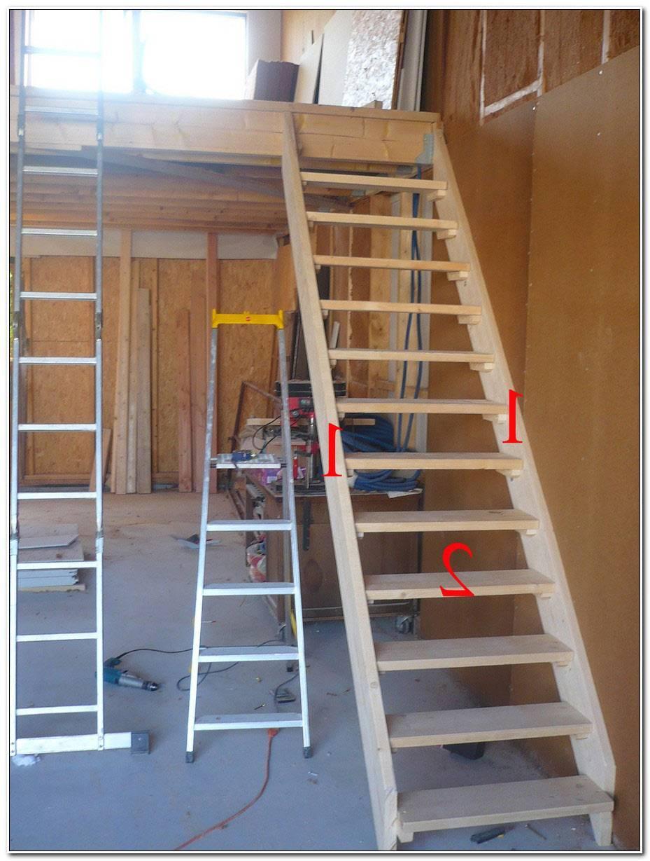 Construire Un Escalier En Bois Interieur