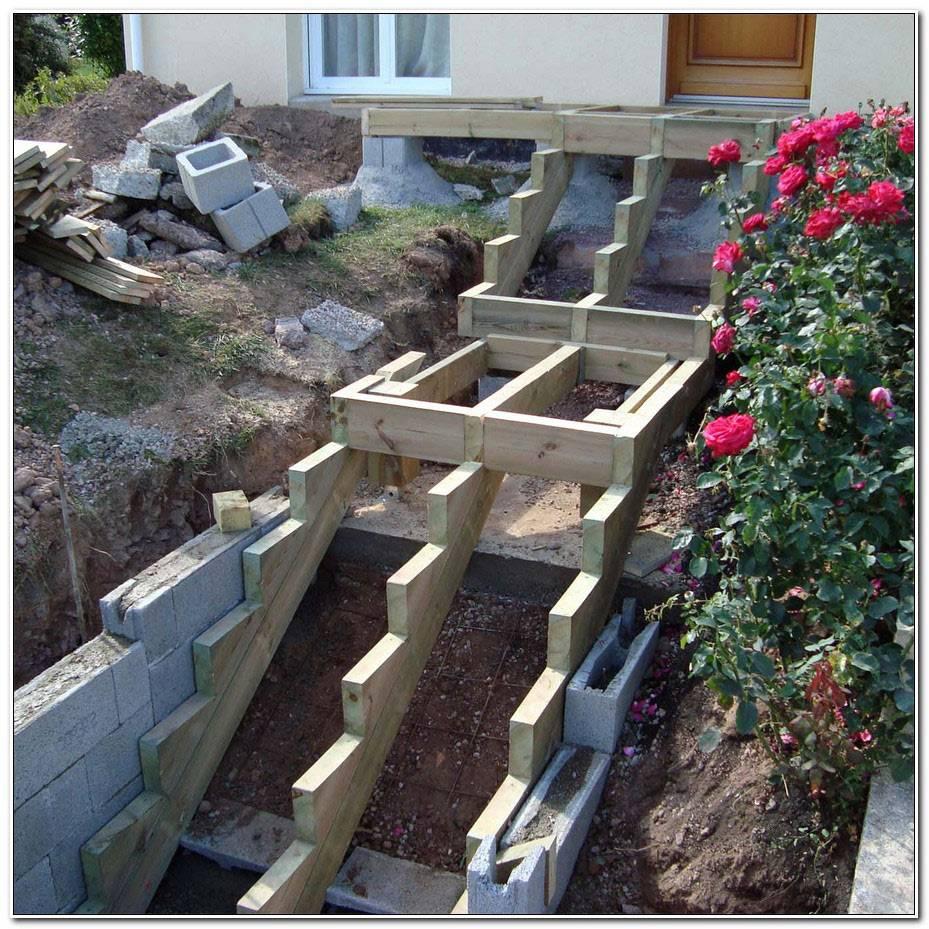 Construire Un Escalier Exterieur